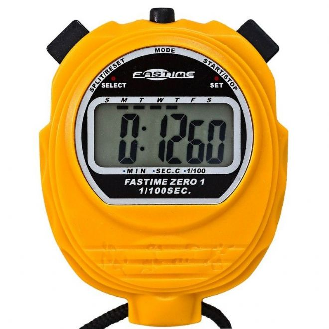 Budget Range Stopwatches - Fastime 01 Stopwatch (Yellow)